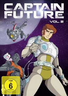 Captain Future Vol. 2, 2 DVDs