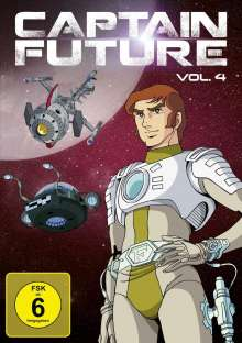 Captain Future Vol. 4, 2 DVDs