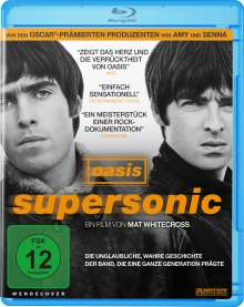 Oasis: Supersonic (Blu-ray), Blu-ray Disc