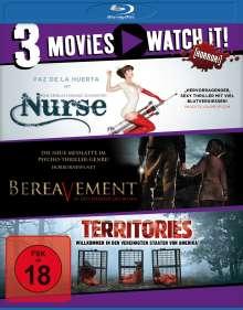 Territories / Bereavement / Nurse (Blu-ray), 3 Blu-ray Discs