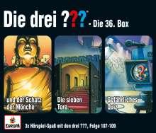 36/3er Box (Folgen 107,108,109), 3 CDs