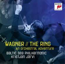 Richard Wagner (1813-1883): The Ring - An Orchestral Adventure, CD