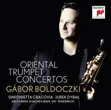 Gabor Boldoczki - Oriental Trumpet Concertos, CD