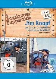 Augsburger Puppenkiste: Jim Knopf und Lukas, der Lokomotivführer / Jim Knopf und die Wilde 13 (Blu-ray), Blu-ray Disc