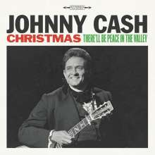 Johnny Cash: Christmas: There'll Be Peace In The Valley, LP