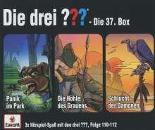 Die drei ??? 37/3er Box (Folgen 110,111,112), 3 CDs