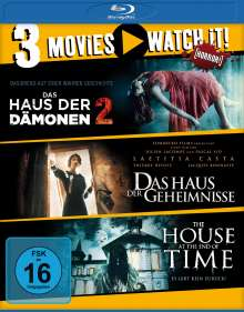 Das Haus der Dämonen 2 / The House at the End of Time / Das Haus der Geheimnisse (Blu-ray), 3 Blu-ray Discs