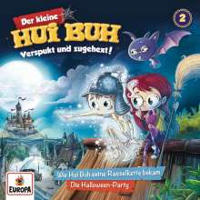 002/Hui Buh und seine Rasselkette/Halloween-Party, CD