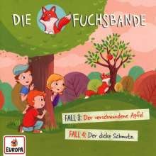 Die Fuchsbande (02.) Fall 3: Der verschwundene Apfel / Fall 4: Der dicke Schmutz, CD