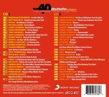 Top 40 deutsche Schlager, 2 CDs
