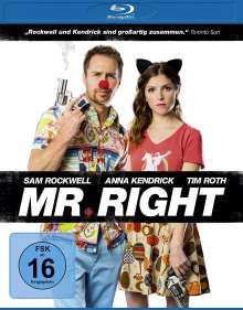 Mr. Right (Blu-ray), Blu-ray Disc