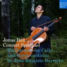 Jean-Baptiste Barriere (1707-1747): 6 Sonaten für Cello & Bc, CD