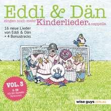 Eddi & Dän singen noch mehr Kinderlieder a cappella, 2 CDs