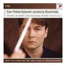 Esa-Pekka Salonen conducts Strawinsky, 7 CDs