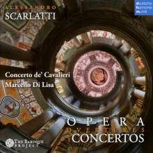 Alessandro Scarlatti (1660-1725): Opern-Ouvertüren & Concerti grossi, CD