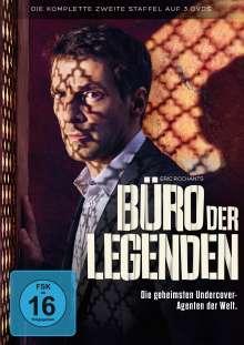 Büro der Legenden Staffel 2, 3 DVDs