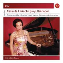Alicia de Larrocha plays Granados, 3 CDs