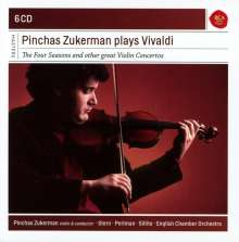 Pinchas Zukerman plays Vivaldi, 6 CDs