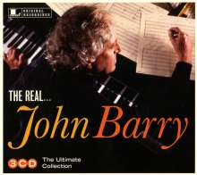 John Barry (1933-2011): Filmmusik: The Real... John Barry: The Ultimate Collection, 3 CDs