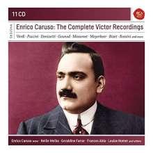 Enrico Caruso - The Complete Victor Recordings, 11 CDs