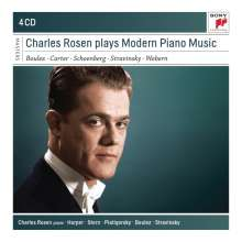 Charles Rosen plays Modern Piano Music, 4 CDs