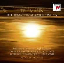 "Georg Philipp Telemann (1681-1767): Reformations-Oratorium 1755 ""Holder Friede, Heil'ger Glaube"" TWV 13:18, CD"