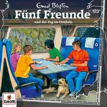 Fünf Freunde (123) - und der Zug im Dunkeln, CD
