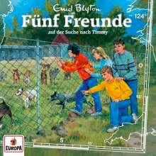 Fünf Freunde (124) - auf der Suche nach Timmy, CD