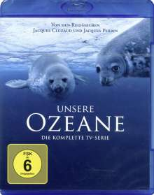 Unsere Ozeane (Komplette 4-teilige TV-Serie) (Blu-ray), Blu-ray Disc