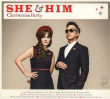 She & Him: Christmas Party, CD