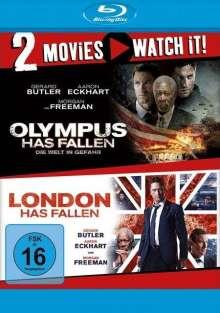 Olympus Has Fallen / London Has Fallen (Blu-ray), 2 Blu-ray Discs
