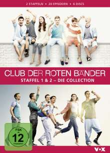 Club der roten Bänder Staffel 1 & 2, 6 DVDs