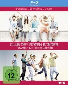Club der roten Bänder Staffel 1 & 2 (Blu-ray), 4 Blu-ray Discs