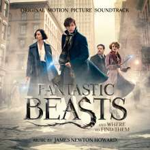 James Newton Howard (geb. 1951): Filmmusik: Fantastic Beasts And Where To Find Them (DT: Phantastische Tierwesen und wo sie zu finden sind), CD