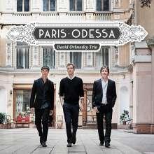 David Orlowsky Trio - Paris - Odessa, CD