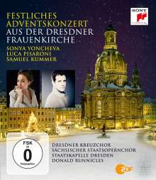 Festliches Adventskonzert aus der Dresdner Frauenkirche 2015, Blu-ray Disc