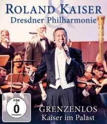Roland Kaiser: Grenzenlos - Kaiser im Palast: Live in Dresden 2017, Blu-ray Disc