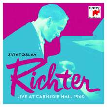 Svjatoslav Richter - Live at Carnegie Hall, 13 CDs