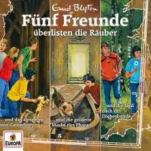 Fünf Freunde 3er Box 29 - Folgen 88/102/104 - Fünf Freunde überlisten die Räuber, 3 CDs