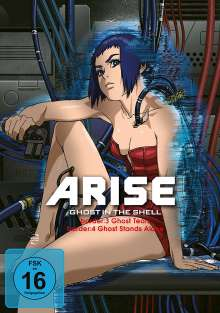 Ghost in the Shell - Arise: Border 3 & 4, DVD
