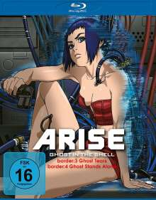 Ghost in the Shell - Arise: Border 3 & 4 (Blu-ray), Blu-ray Disc