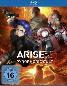 Ghost in the Shell - Arise: Pyrophoric Cult (Blu-ray), Blu-ray Disc