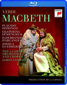 Giuseppe Verdi (1813-1901): Macbeth, Blu-ray Disc