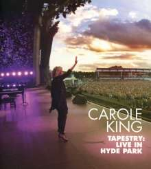 Carole King: Tapestry: Live In Hyde Park 2016, 1 CD und 1 DVD