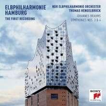 Johannes Brahms (1833-1897): Symphonien Nr.3 & 4 (Die erste Aufnahme aus der neuen Elbphilharmonie Hamburg), CD