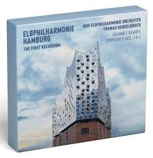 Johannes Brahms (1833-1897): Symphonien Nr.3 & 4 (Deluxe-Edition der ersten Aufnahme aus der neuen Elbphilharmonie Hamburg mit DVD), 1 CD und 1 DVD