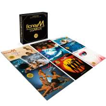 Boney M.: Complete (Box-Set) (remastered), 9 LPs