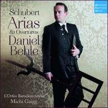 Franz Schubert (1797-1828): Arien & Ouvertüren, CD