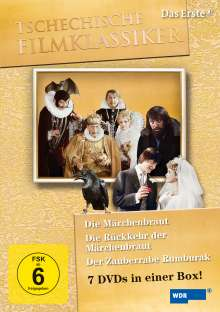 Die Märchenbraut (Komplettbox), 7 DVDs
