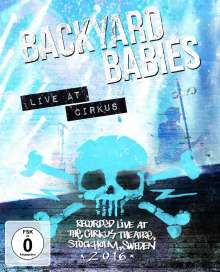 Backyard Babies: Live At Cirkus 2016, DVD